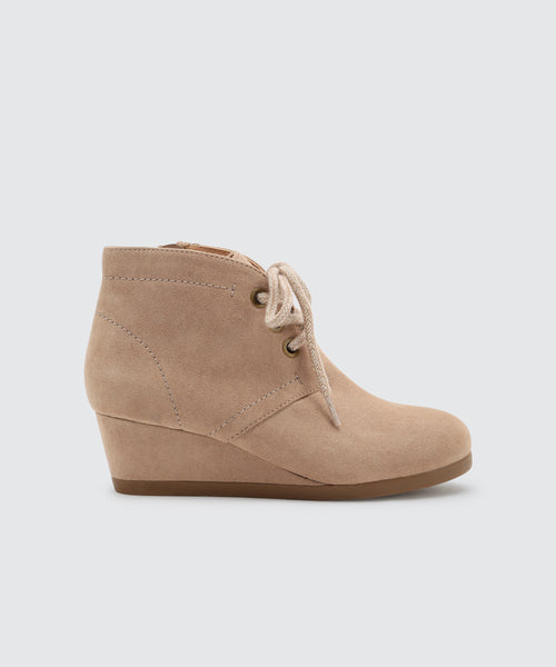 PAGET BOOTIES IN ALMOND -   Dolce Vita