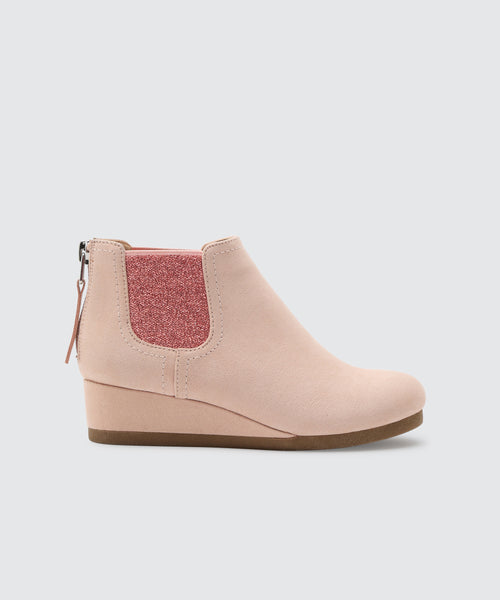 PIERO BOOTIES IN BLUSH -   Dolce Vita