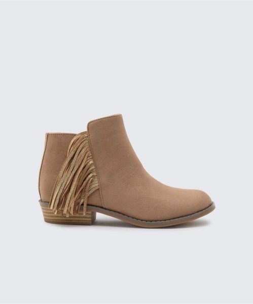SAIDY BOOTIES IN ALMOND -   Dolce Vita