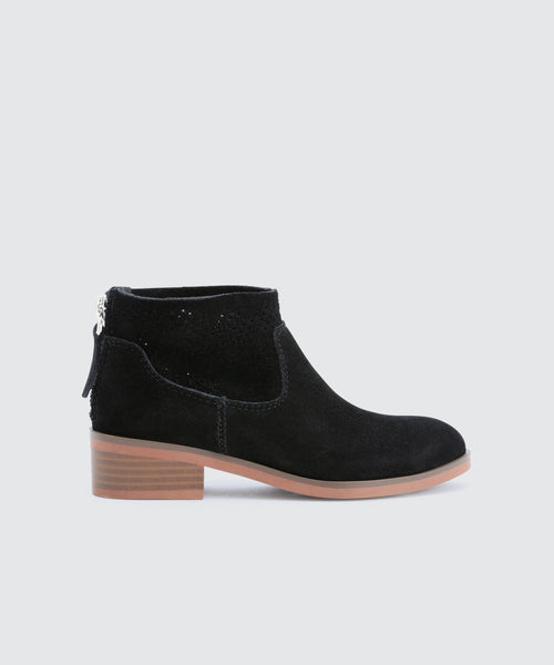 TATEM BOOTIES IN BLACK -   Dolce Vita