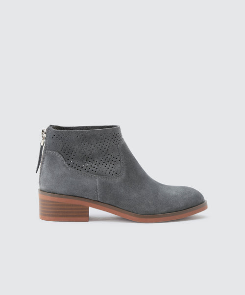 TATEM BOOTIES IN SLATE -   Dolce Vita