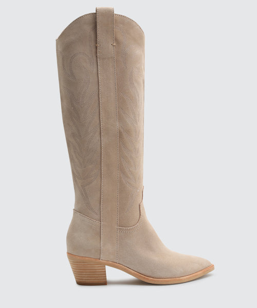 SOLEI BOOTS IN NATURAL -   Dolce Vita