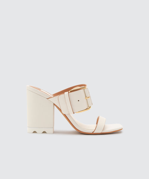 LOIS HEELS IN WHITE -   Dolce Vita