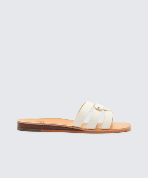 CAIT SANDALS IN OFF WHITE -   Dolce Vita