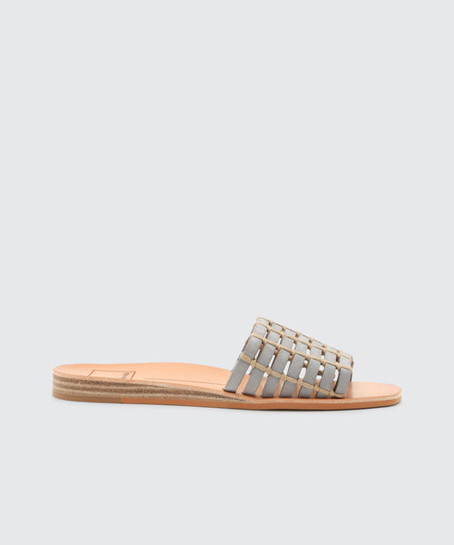 COLSEN SANDALS IN GREY -   Dolce Vita