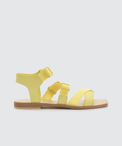 INDAH SANDALS IN CITRON -   Dolce Vita