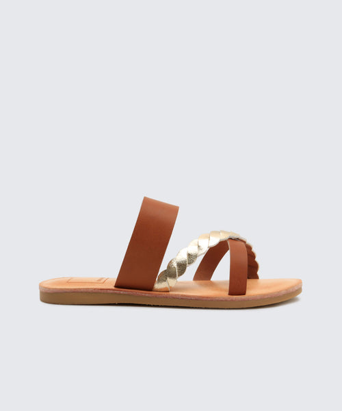 JILLIE SANDALS IN TAN -   Dolce Vita