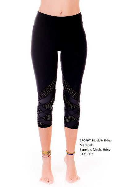 Margarita Activewear 17009T Criss Cross Tight