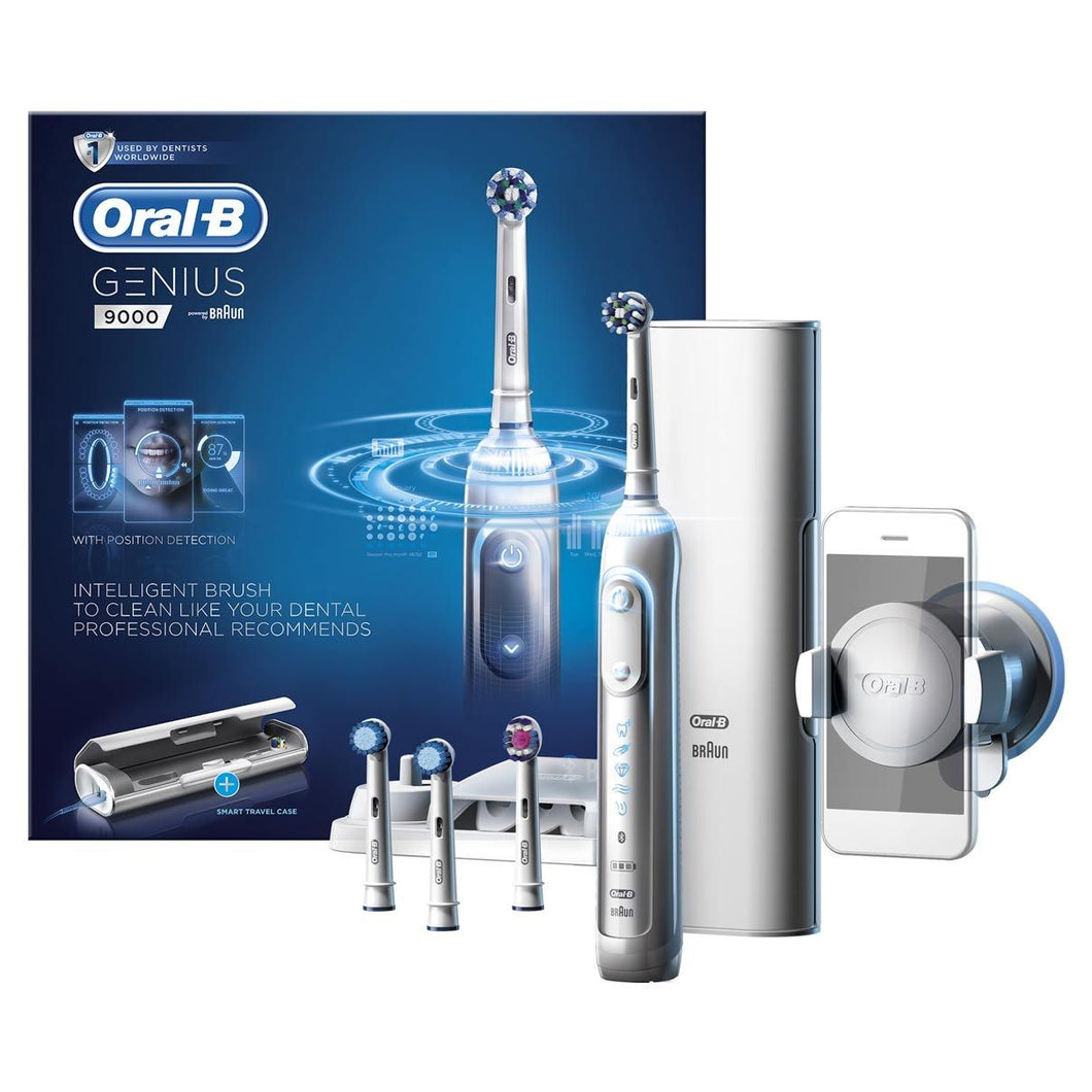 Oral-B Genius Series9000 Brush White Electric Powerbrush