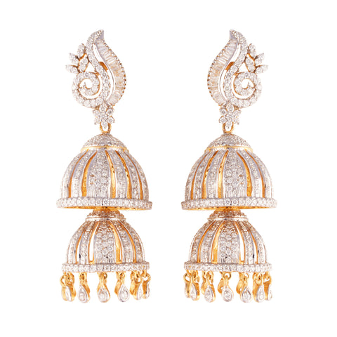 18K CHANDLIER EARRINGS (EXCLUSIVE TO PRECIOUS)