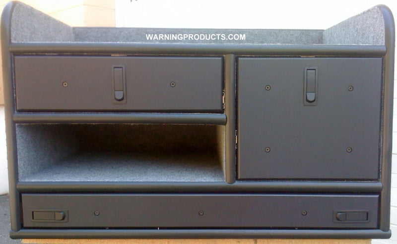 FD-110 Vehicle Command Cabinet by warningproducts.com