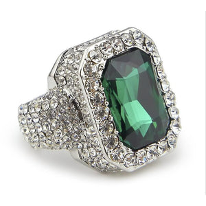 Luxury Stone Iced Ring