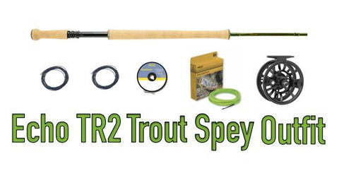 Echo TR2 Trout Spey Outfit
