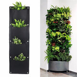 Vertical Gardening Pots Planter Hanging ¦ Vertical Pots Planter On Wall Green Field
