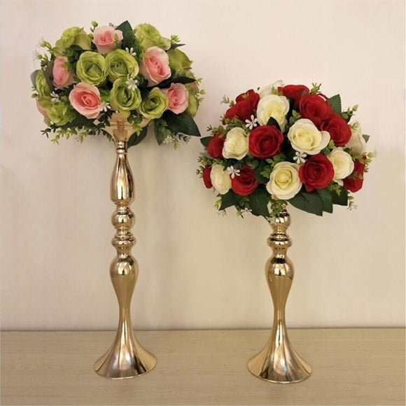 Wedding Candle Holders Candlestick Flower Vase ¦ Table Centerpiece Flower  Wedding Decoration