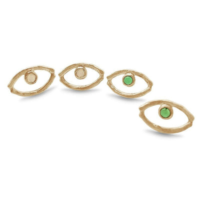Evil Eye Earrings - Custom Fine Jewelry
