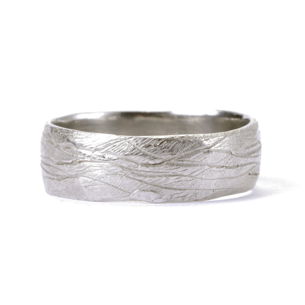 Men's Platinum Lined Ring