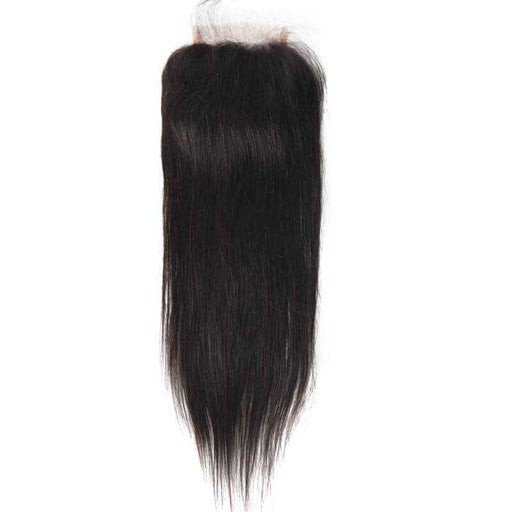 Indian Straight Lace Closure Natural Color - Beautiful Inches