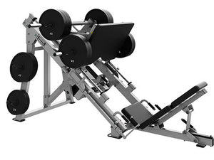 Factory photo of a Used Hammer Strength Plate Loaded 45 Degree Linear Leg Press Version 2