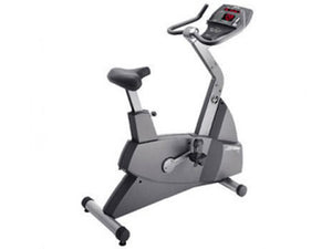 Factory photo of a Used Life Fitness Lifecycle 90C Upright Bike
