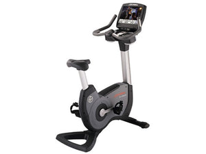 Factory photo of a Used Life Fitness Lifecycle 95C Engage Upright Bike