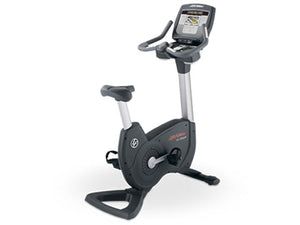 Factory photo of a Used Life Fitness Lifecycle 95C Inspire Upright Bike