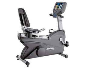 Factory photo of a Refurbished Life Fitness Lifecycle 95Re Recumbent Bike