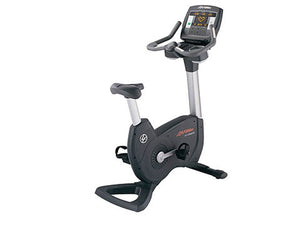 Factory photo of a Used Life Fitness Lifecycle 97C XXL Inspire Upright Bike