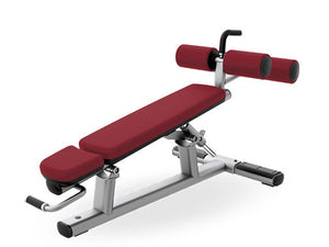 Factory photo of a Used Life Fitness Signature Adjustable Decline Bench