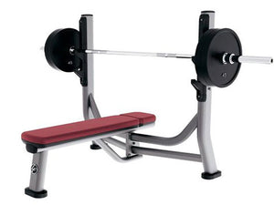 Factory photo of a Used Life Fitness Signature Olympic Flat Bench