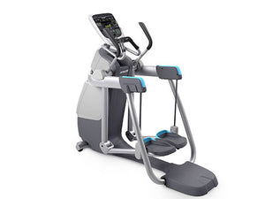 Factory photo of a Used Precor AMT 835 with Open Stride and P30 Console