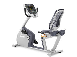 Factory photo of a Used Precor RBK835 Recumbent Bike