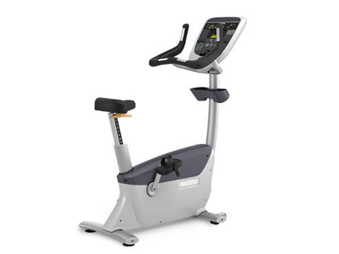 Factory photo of a Used Precor UBK835 Upright Bike