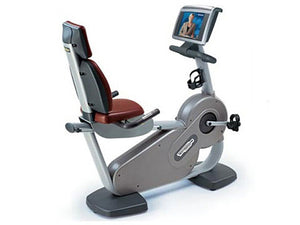 Factory photo of a Used Technogym Excite Recline 700WEB Recumbent Bike