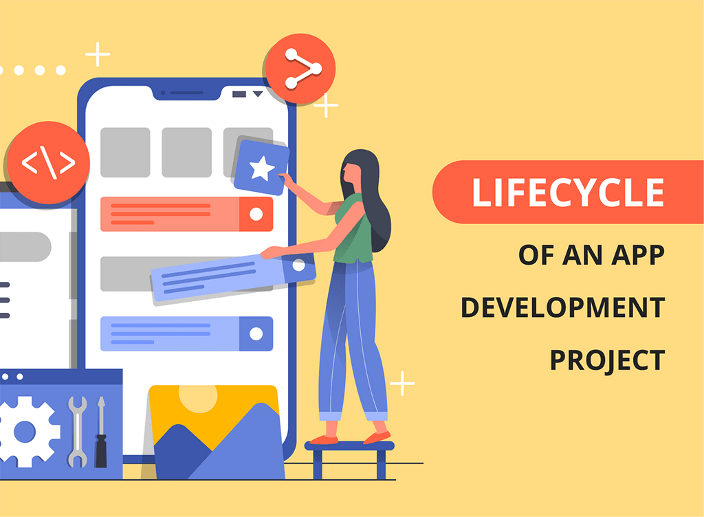 Lifecycle of an app development project