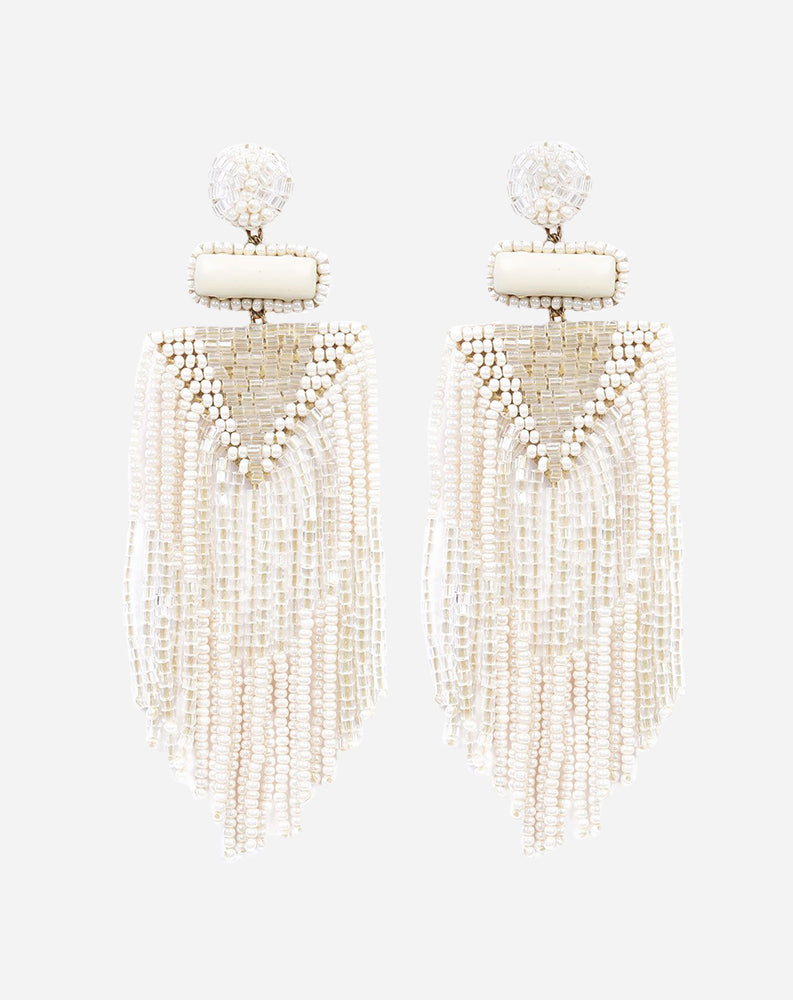 Jody Earrings in Ivory