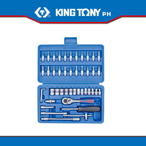 King Tony #ST2346MR, 46 pc. 1/4
