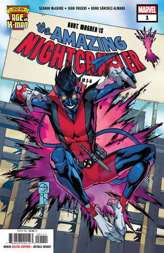 AGE OF X-MAN AMAZING NIGHTCRAWLER #1 (OF 5)