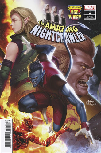 AGE OF X-MAN AMAZING NIGHTCRAWLER #1 (OF 5) INHYUK LEE CONNE