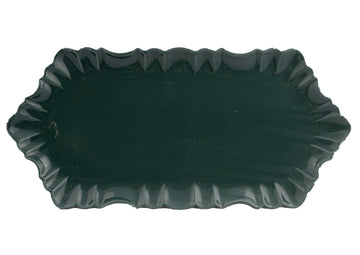 Cloud Appetizer Plate Large-Green