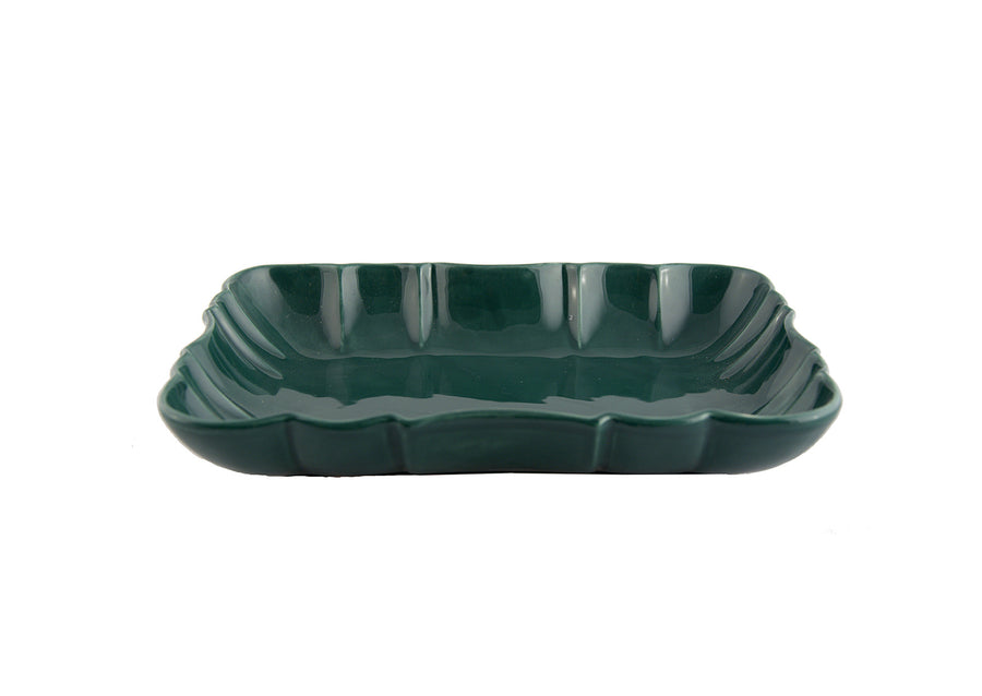 Deep Platter Medium-Green