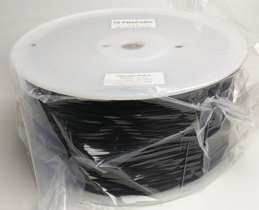 1.75mm 3KG-spool Black FilaCube 3D Printer PLA 2 filament