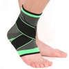 Image of DurablePro™ Ankle Compression Sleeve - Adjustable Stabilizer Straps - EcoBraces®