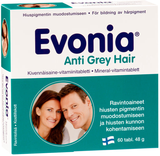 Evonia Anti Grey Hair 60 tablettia