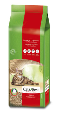 Cat's Best Original kissanhiekka 17,2kg/40l