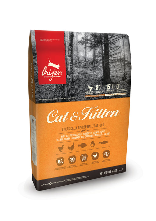 Orijen Cat & Kitten kissalle 1,8 kg