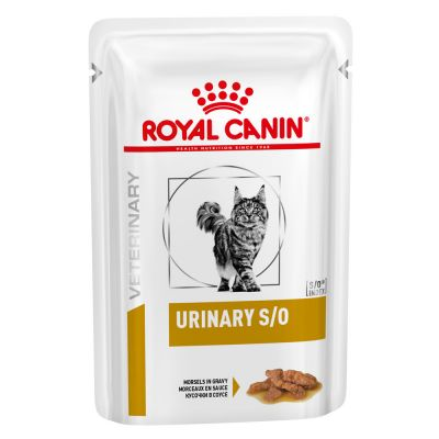 Royal Canin Feline Urinary S/O Morsels In Gravy/paloja kastikkeessa 12 x 85g