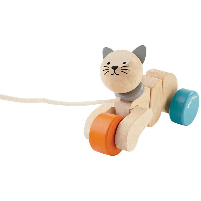 Plan Toys Pull-Along Cat