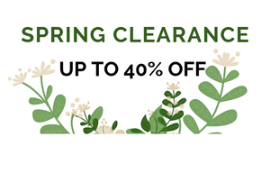 Spring Clearance Announcement