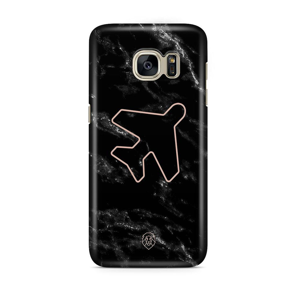EHFAR Airplane Black Phone Case